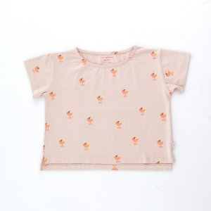 <img class='new_mark_img1' src='https://img.shop-pro.jp/img/new/icons14.gif' style='border:none;display:inline;margin:0px;padding:0px;width:auto;' />ICE CREAM CUP CROP TEE / dusty pink papaya / tiny cottons 2021ss