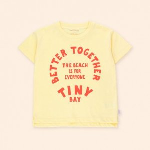 <img class='new_mark_img1' src='https://img.shop-pro.jp/img/new/icons14.gif' style='border:none;display:inline;margin:0px;padding:0px;width:auto;' />BETTER TOGETHER GRAPHIC TEE / lemonade / tiny cottons 2021ss