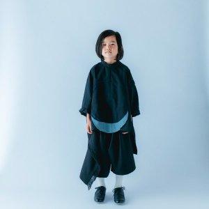 サークルパッチシャツ / black / nunuforme 2021ss