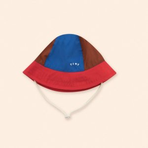 <img class='new_mark_img1' src='https://img.shop-pro.jp/img/new/icons14.gif' style='border:none;display:inline;margin:0px;padding:0px;width:auto;' />TINY COLOR BLOCK BUCKET HAT /  tiny cottons 2021SS