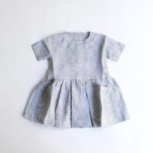 <img class='new_mark_img1' src='https://img.shop-pro.jp/img/new/icons14.gif' style='border:none;display:inline;margin:0px;padding:0px;width:auto;' />AS WE GROW Pocket dress  / Basic Stripe Linen