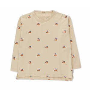 <img class='new_mark_img1' src='https://img.shop-pro.jp/img/new/icons14.gif' style='border:none;display:inline;margin:0px;padding:0px;width:auto;' /> DOGS TEE / cappuccino true brown / tiny cottons 2021aw