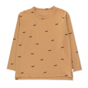 <img class='new_mark_img1' src='https://img.shop-pro.jp/img/new/icons14.gif' style='border:none;display:inline;margin:0px;padding:0px;width:auto;' /> ANTS TEE / cappuccino true brown / tiny cottons 2021aw