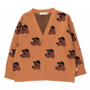 <img class='new_mark_img1' src='https://img.shop-pro.jp/img/new/icons14.gif' style='border:none;display:inline;margin:0px;padding:0px;width:auto;' />DOG CARDIGAN  / tiny cottons 2021aw