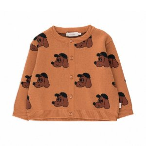 <img class='new_mark_img1' src='https://img.shop-pro.jp/img/new/icons14.gif' style='border:none;display:inline;margin:0px;padding:0px;width:auto;' />DOG BABY CARDIGAN / ink blue honey / tiny cottons 2021aw