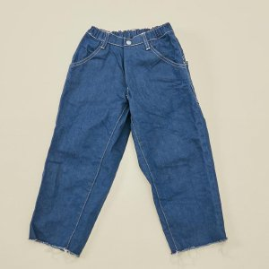 <img class='new_mark_img1' src='https://img.shop-pro.jp/img/new/icons14.gif' style='border:none;display:inline;margin:0px;padding:0px;width:auto;' /> wide cropped denim vintage blue / MOUN TEN.  2021AW