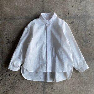 <img class='new_mark_img1' src='https://img.shop-pro.jp/img/new/icons14.gif' style='border:none;display:inline;margin:0px;padding:0px;width:auto;' />予約販売中/ 80/1 washer big shirts white  / MOUN TEN.  2021AW