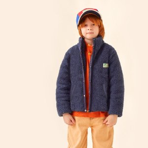 <img class='new_mark_img1' src='https://img.shop-pro.jp/img/new/icons14.gif' style='border:none;display:inline;margin:0px;padding:0px;width:auto;' />polar sherpa jacket / ink blue  / tiny cottons 2021aw