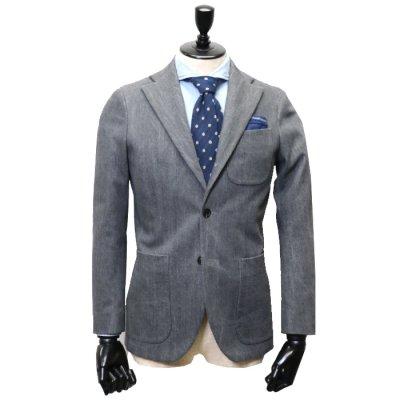 デニムスーツ<br>【MADARA】(GREY・グレー/灰)スーツ<br>14oz