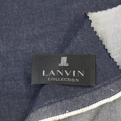 デニムスーツ<br>LANVIN(ランバン)WOOLDENIM(ウールデニム)(DARK NAVY/濃紺/ネイビー) プレミアム仕様
