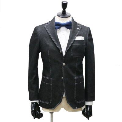 デニムスーツ<br>【AMIRA】(BLACK)スーツ<br>12oz ストレッチデニム