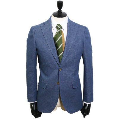 色落ちしないデニムスーツ<br>【Childish Denim】(BLUE・ブルー/青)スーツ<br>10oz