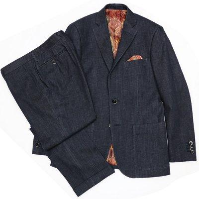 デニムスーツ<br>【ZEKKA】(NAVY)スーツ