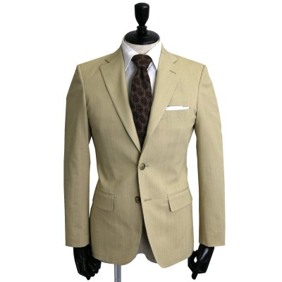 デニムスーツ<br>【KORAKU】(BEIGE・ベージュ)スーツ
