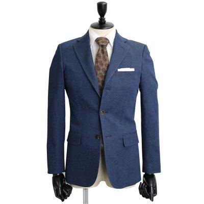 デニムスーツ<br>【KORAKU】(NAVY・ネイビー)スーツ