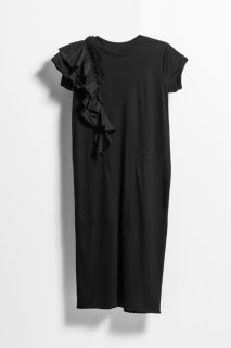 <br/>Frill onepiece dress<br/>/Black