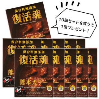 「復活魂・熊本カリー」10個セット(送料無料)