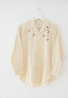 <img class='new_mark_img1' src='https://img.shop-pro.jp/img/new/icons50.gif' style='border:none;display:inline;margin:0px;padding:0px;width:auto;' />80〜90年代 ジャパン ヴィンテージ オープンカラー シャツ 80〜90s Japan Vintage Viking Open Collar Shirt