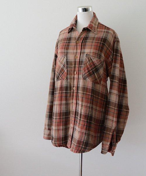BIG MAC ヘビーネルシャツ ヴィンテージ 80年代 リペア | Vintage 80s Heavy Flannel Shirt Good Repair