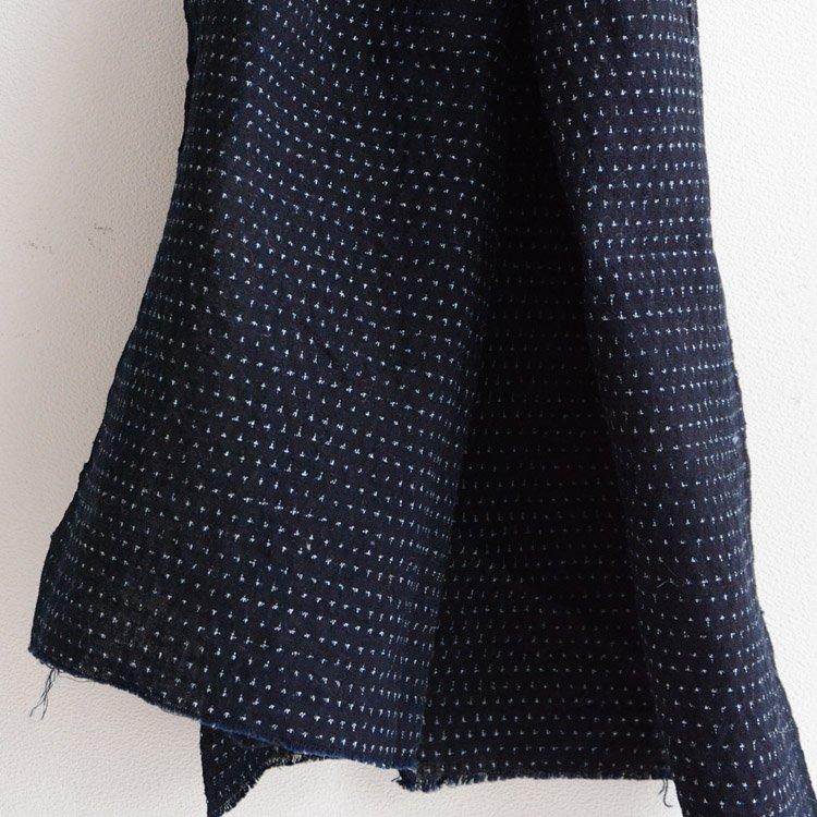 Kasuri Fabric Japan Vintage Indigo Dye Scraps 30s | 古布 はぎれ 蚊絣 藍染 ジャパンヴィンテージ