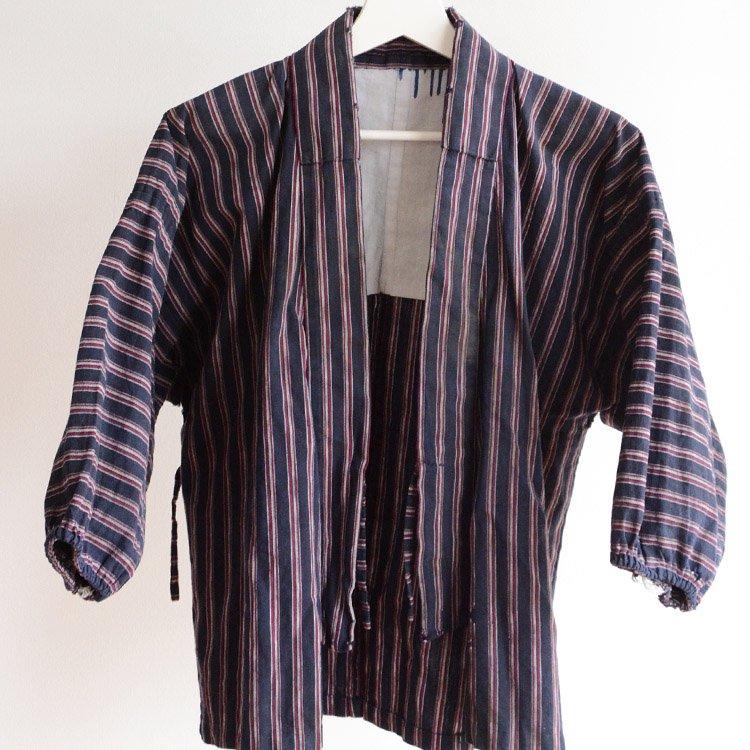 野良着 古着 手ぬぐい 木綿 着物 ジャパンヴィンテージ 昭和 | Noragi Jacket Uwappari Tenugui Kimono Cotton Japan Vintage