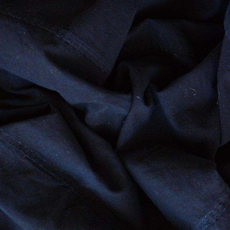 藍染 古布 木綿 無地 ジャパンヴィンテージ ファブリック 大正 昭和 | Japanese Indigo Fabric Vintage Blue Aizome Plain Textile
