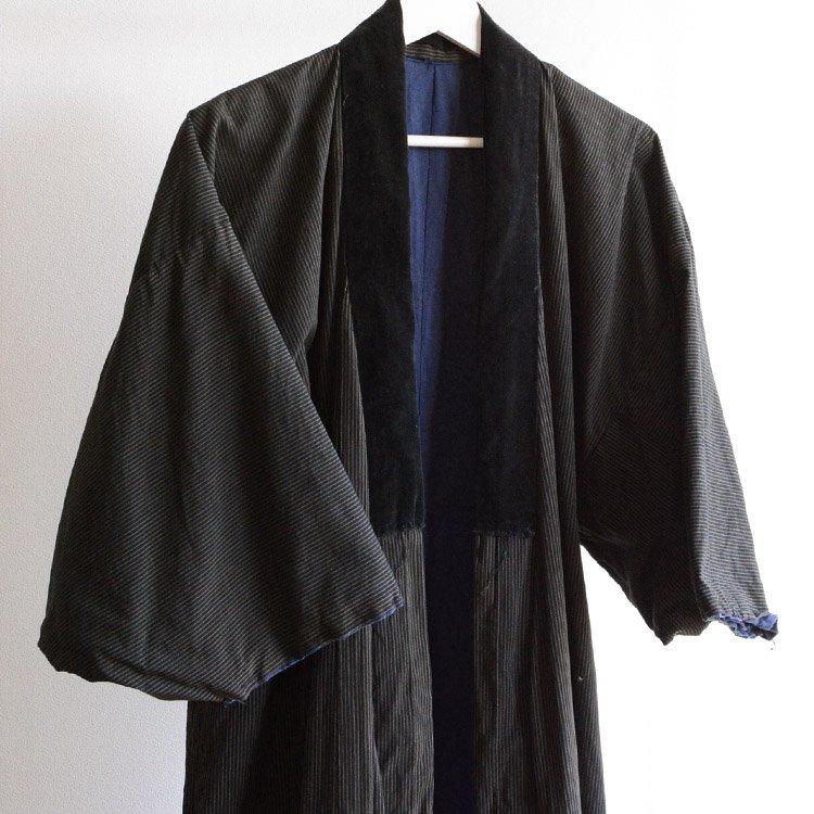 着物 縞模様 ジャパンヴィンテージ 長着 50年代 アンティーク | Kimono Coat Japan Vintage Stripe 50s Antique