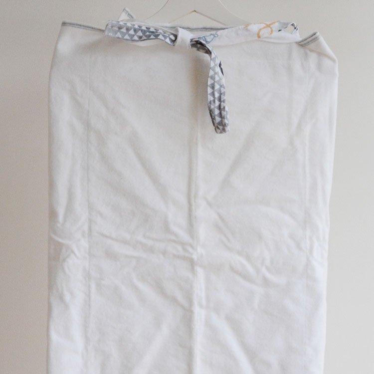 お腰 着物 裾除け ジャパンヴィンテージ コットンフランネル 昭和 | Kimono Cotton Fabric Flannel Okoshi Underwear