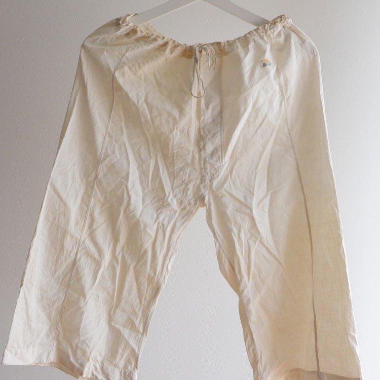 ステテコ コットン パンツ 襤褸 ジャパンヴィンテージ 50〜60年代   Steteco Cotton Pants Japan Vintage Boro 50〜60s