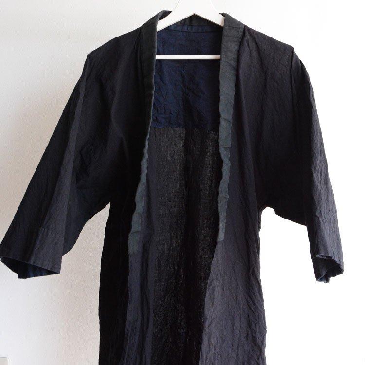 半纏 無地 ジャパンヴィンテージ アンティーク着物 昭和初期〜中期頃 | Hanten Jacket Plain Color Japan Vintage Kimono Showa