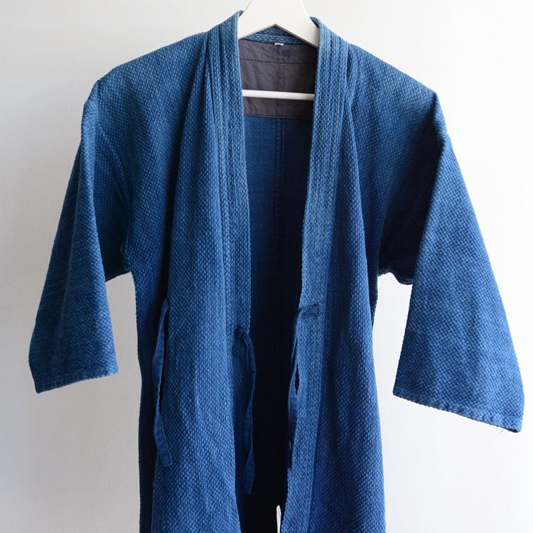 剣道着 藍染 刺し子 日本製 道着   Kendo Jacket Sashiko Cloth Indigo Blue Made in Japan