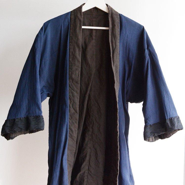 野良着 古着 ジャパンヴィンテージ 40〜50年代 アンティーク着物   Noragi Jacket Japan Vintage Antique Kimono 40〜50s