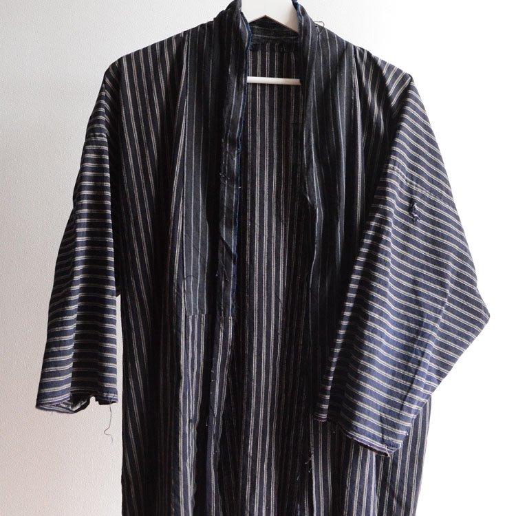 野良着 古着 着物 ほどき 木綿 ジャパンヴィンテージ 30〜40年代   Noragi Jacket Men Japanese Vintage Kimono