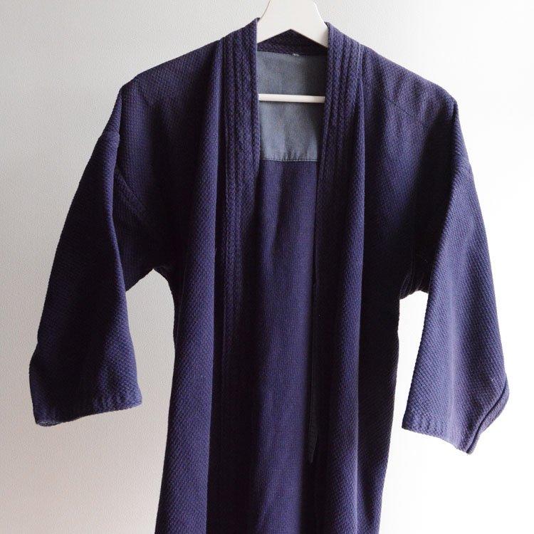 <img class='new_mark_img1' src='https://img.shop-pro.jp/img/new/icons8.gif' style='border:none;display:inline;margin:0px;padding:0px;width:auto;' />剣道着 刺し子 木綿 ジャパンヴィンテージ 平成 | Kendo Gi Sashiko Jacket Cotton Japan Vintage