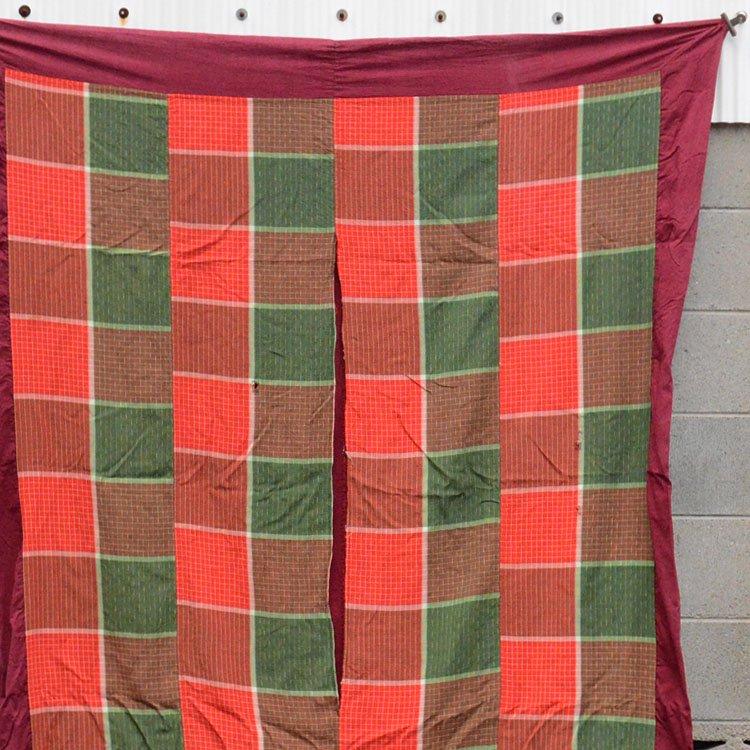 古布 木綿 こたつ布団 ジャパンヴィンテージ ファブリック 昭和   Japanese Fabric Cotton kotatsu Futon Cover Vintage Textiles