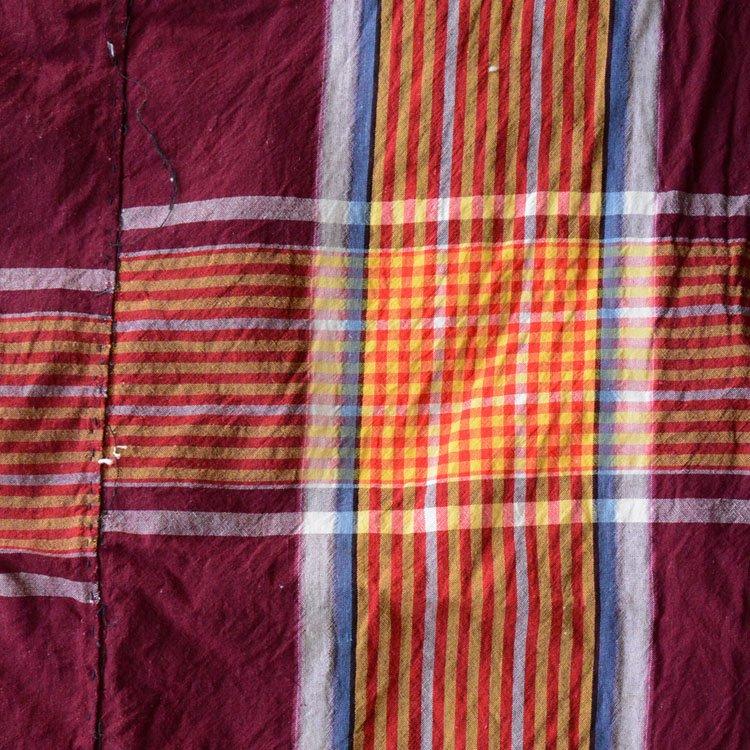 古布 布団皮 襤褸 木綿 ジャパンヴィンテージ ファブリック テキスタイル | Japanese Fabric Cotton Vintage Boro Repair Textile