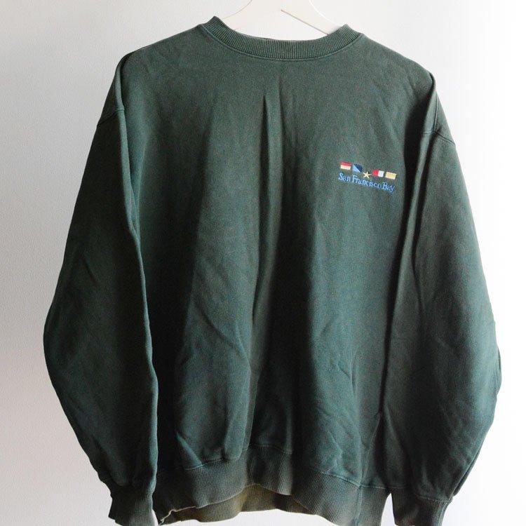 ヴィンテージ スウェット 刺繍 90〜2000年代 コットン サンフランシスコ湾 | 90〜00s Embroidery Sweat San Francisco Bay
