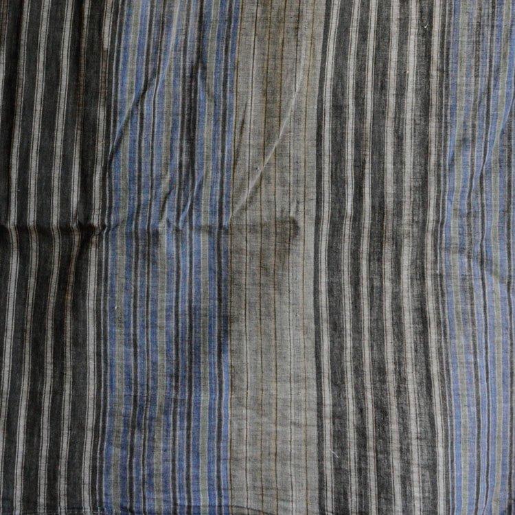 古布 木綿 風呂敷 縞模様 ジャパンヴィンテージ ファブリック テキスタイル 昭和 | Japanese Fabric Vintage Furoshiki Wrapping Cloth