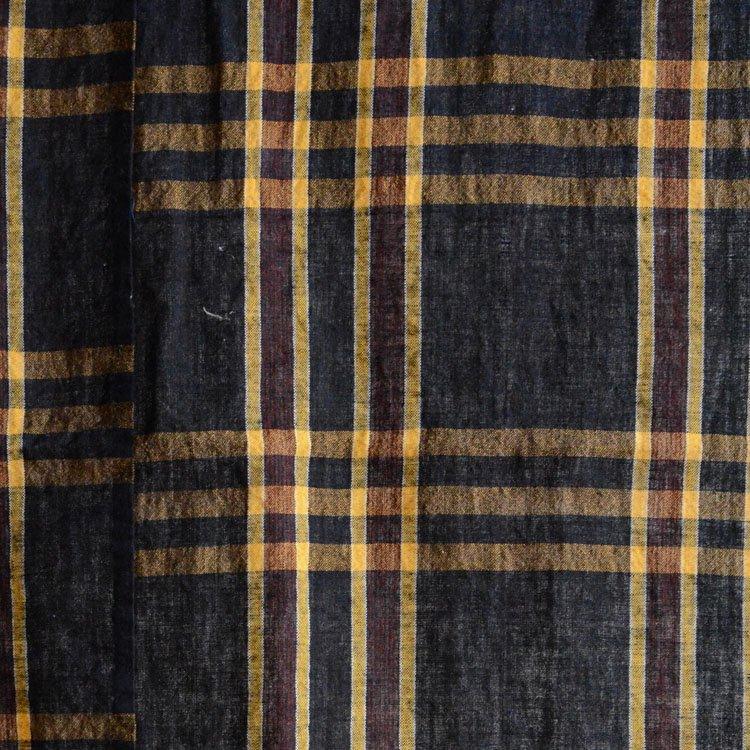 古布 藍染 木綿 布団皮 ほどき ジャパンヴィンテージ ファブリック テキスタイル 3 | Japanese Fabric Vintage Indigo Blue Cotton Futon Cover