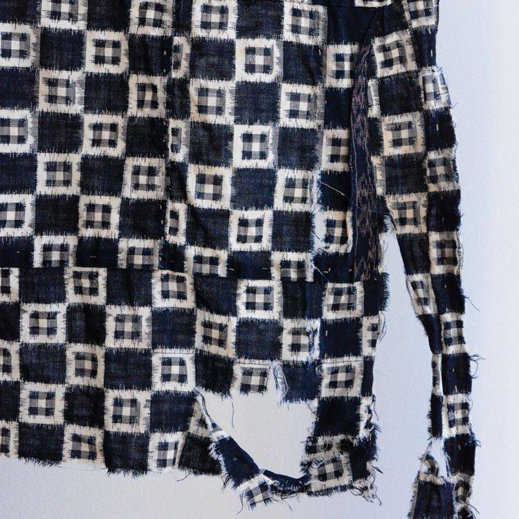 絣 生地 古布 藍染 ジャパンヴィンテージ ファブリック 大正 昭和 | Kasuri Fabric Japan Vintage Indigo Ikat Cotton Old Cloth Scraps