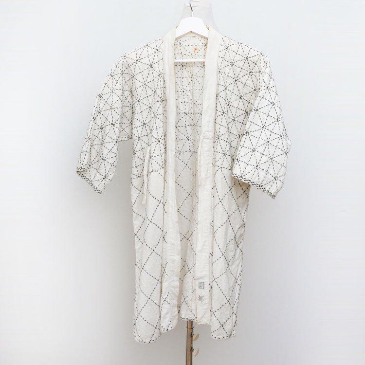 剣道着 木綿 六三四刺し ジャパンヴィンテージ 昭和 平成 | Kendo Gi Kimono Sashiko Jacket Cotton Japan Vintage