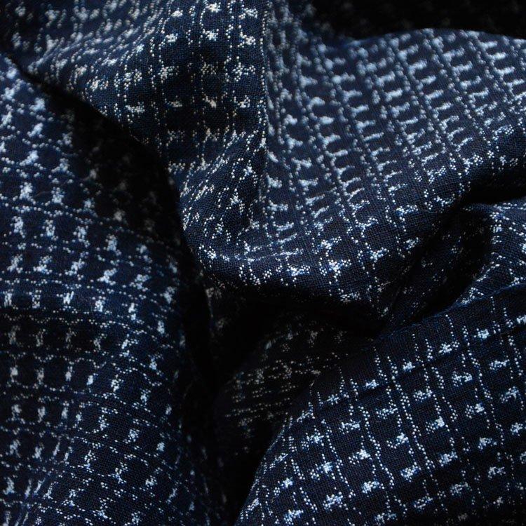書生絣 古布 藍染 木綿 ジャパンヴィンテージ ファブリック テキスタイル 大正 昭和 | Kasuri Fabric Japanese Vintage Indigo Cotton Scraps