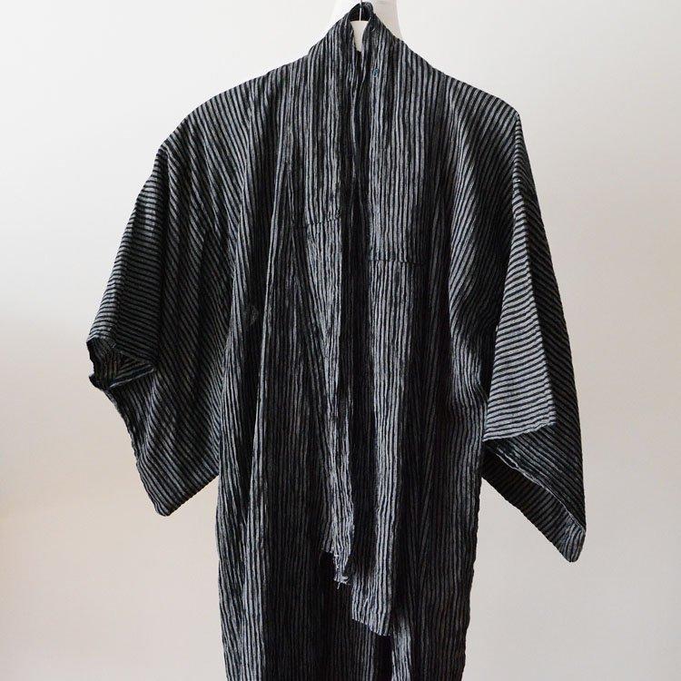 着物 ほどき 縞模様 ジャパンヴィンテージ 昭和中期 | Kimono Japanese Vintage Stripe Unravel Hodoki