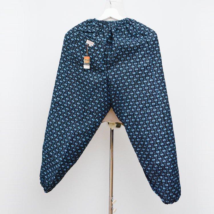 もんぺ パンツ 絣 テイジン テビロン ジャパンヴィンテージ デッドストック | Monpe Pants Kasuri Fabric Japan Vintage Deadstock