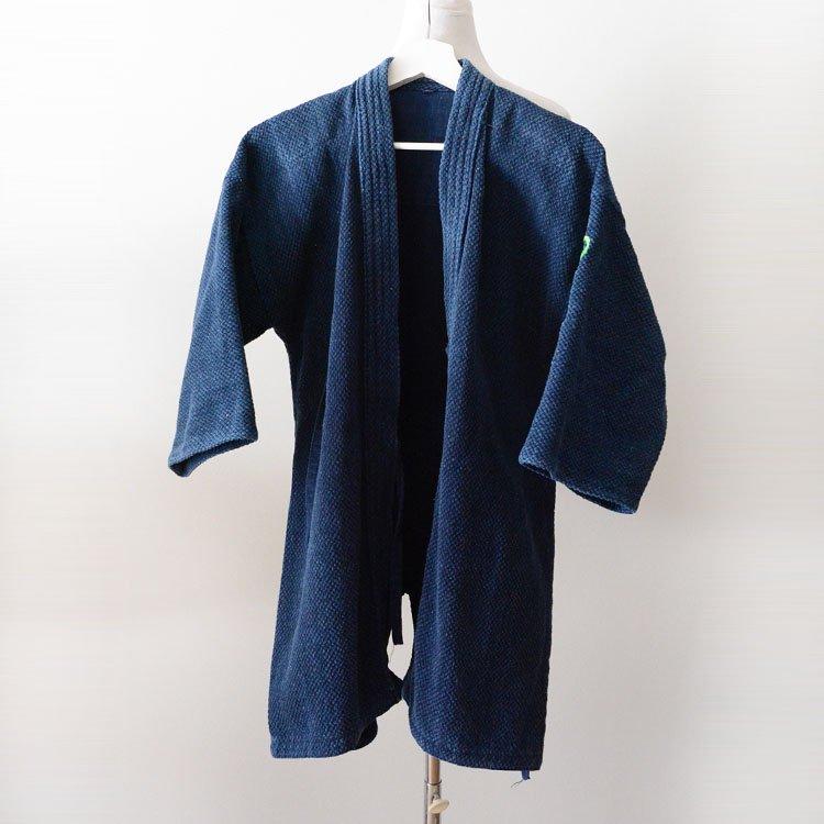 剣道着 2L 刺し子 インディゴ 松勘 ウォッシュ加工 | Kendo Gi Sashiko Jacket Indigo Cotton Embroidery