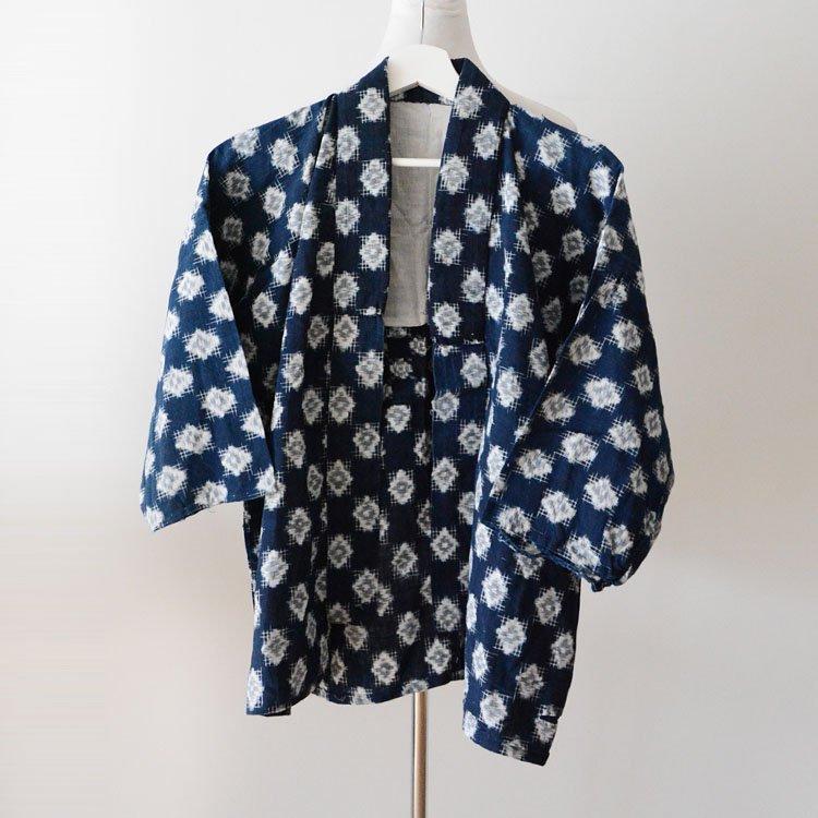 野良着 藍染 襤褸 絣 着物 ジャパンヴィンテージ 昭和 | Boro Noragi Jacket Japan Vintage Indigo Kimono Kasuri Fabric Cotton