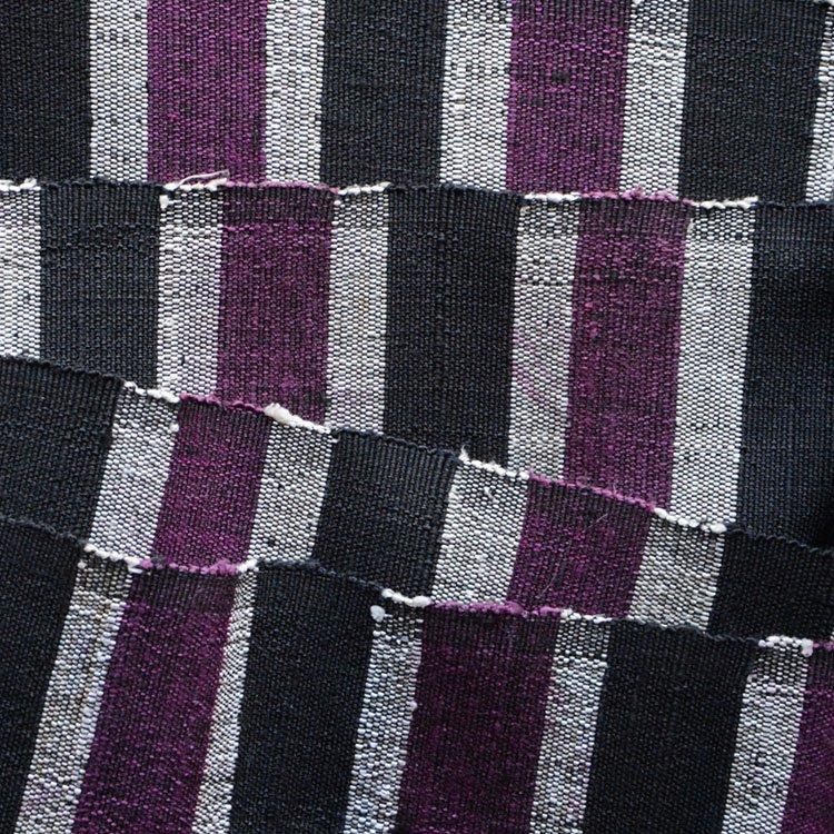 裂き織り 帯 古布 ジャパンヴィンテージ ファブリック テキスタイル 昭和 平成 | Sakiori Obi Belt Japanese Fabric Vintage Textile