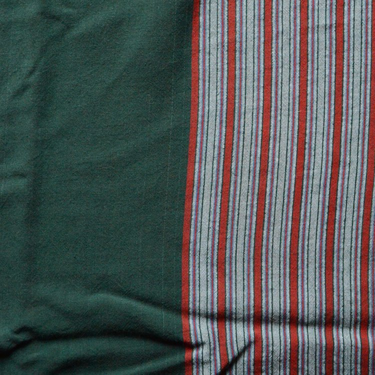 風呂敷 古布 大判 2トーン ジャパンヴィンテージ ファブリック テキスタイル 昭和中期 | Furoshiki Vintage Japanese Fabric Wrap Old Cloth