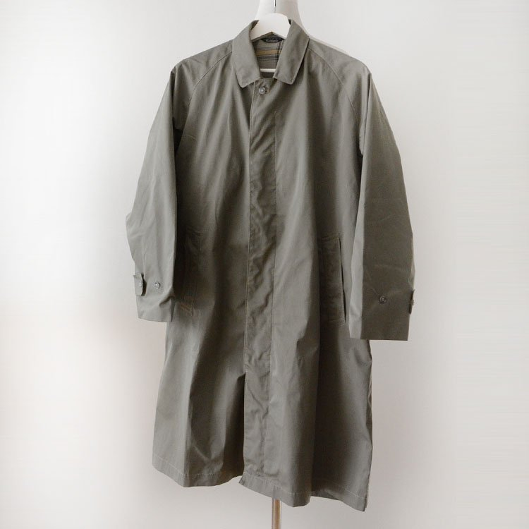 ステンカラーコート ジャパンヴィンテージ ギャラ入り 70〜80年代 | Japan Vintage Guaranteed Coat 70〜80s