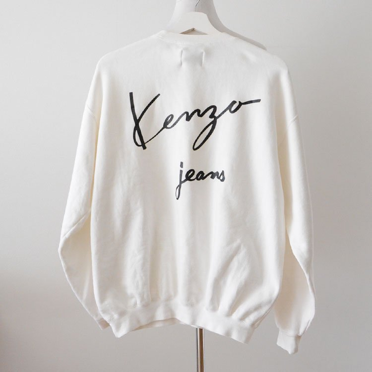 KENZO JEANS ケンゾー ジーンズ 北斎タグ ヴィンテージ スウェット 90年代 Made in Japan